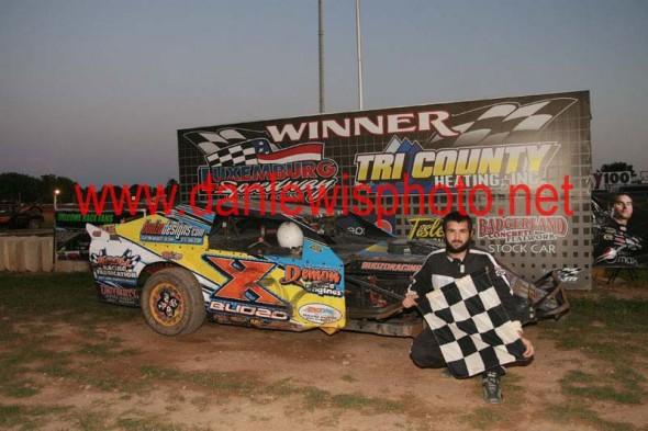 Heat Race Win on 8/19/11