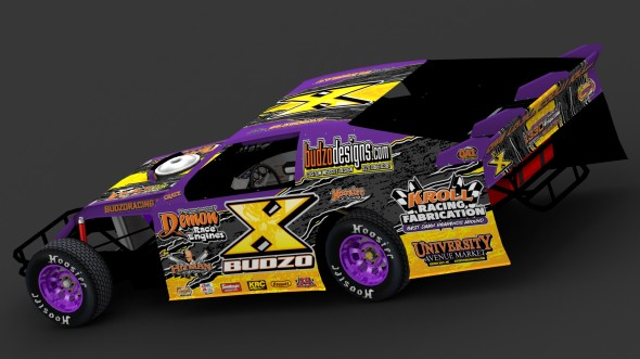 Chris Budzban 2012 IMCA Sportmod Design