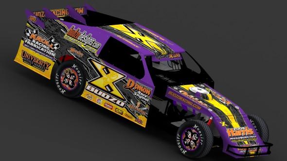 Chris Budzban 2012 IMCA Sportmod Design Passenger