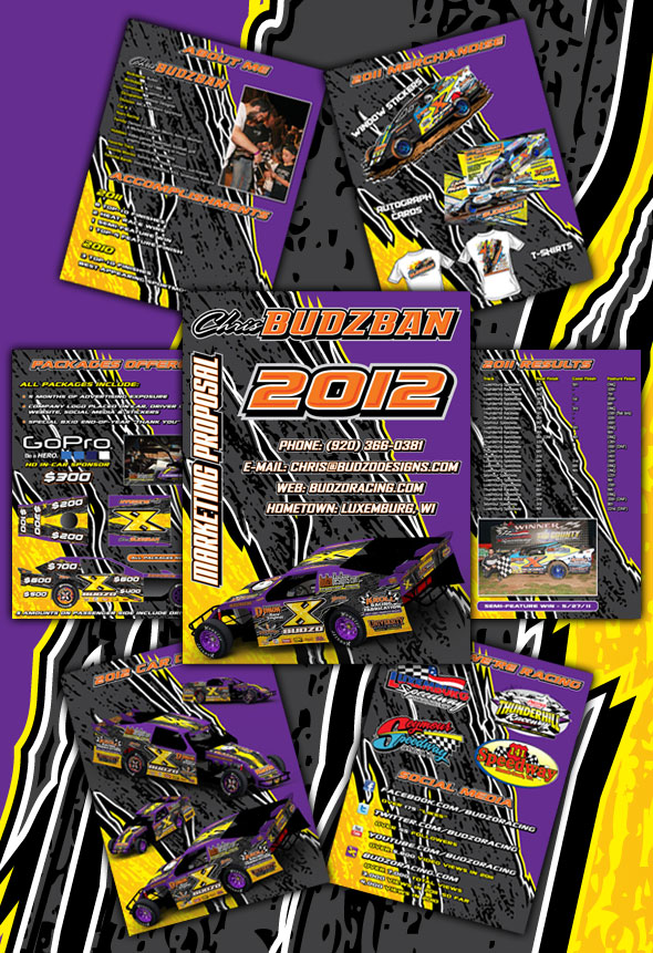 2012 Budzo Racing Marketing Proposal