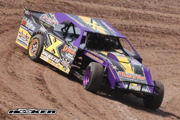 Budzo Racing at 141 Speedway 4/7/12