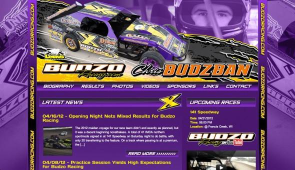 Budzo Racing 2012 Website