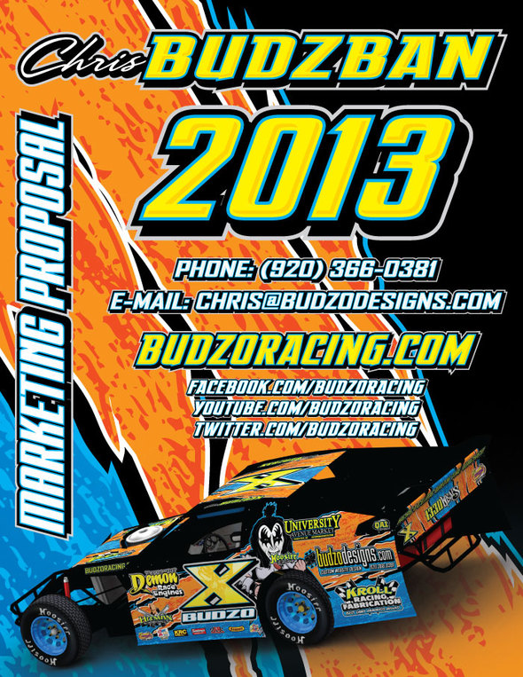 Budzo Racing 2013 Marketing Proposal