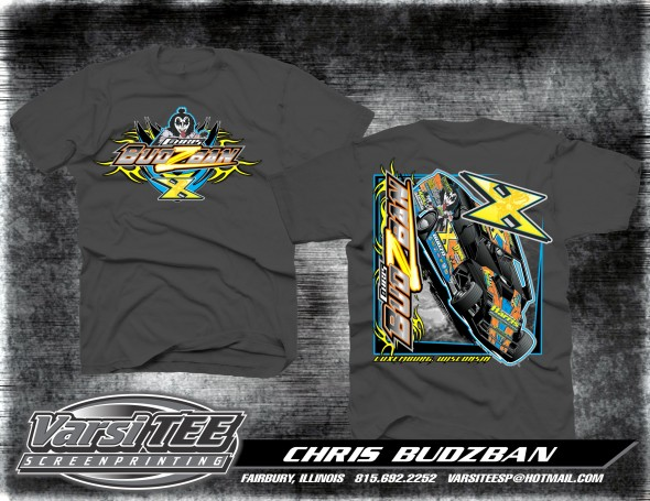 Budzo Racing T-shirt Facebook PromotionBudzo Racing T-shirt Facebook Promotion