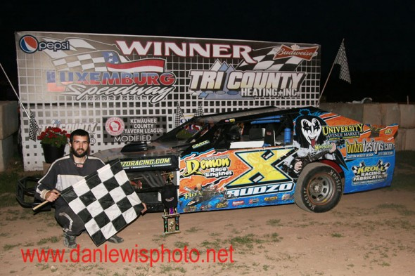 Budzo Racing Captures Elusive Feature Win at Luxemburg Speedway