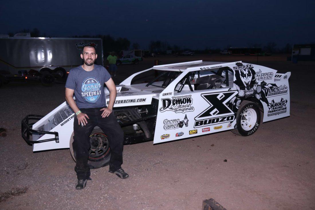 Bio | Budzo Racing | #X Chris Budzban | IMCA Northern Sportmod